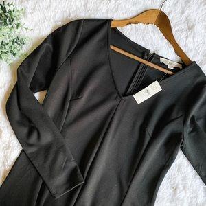 Loft | Black Dress Size 8P NWT